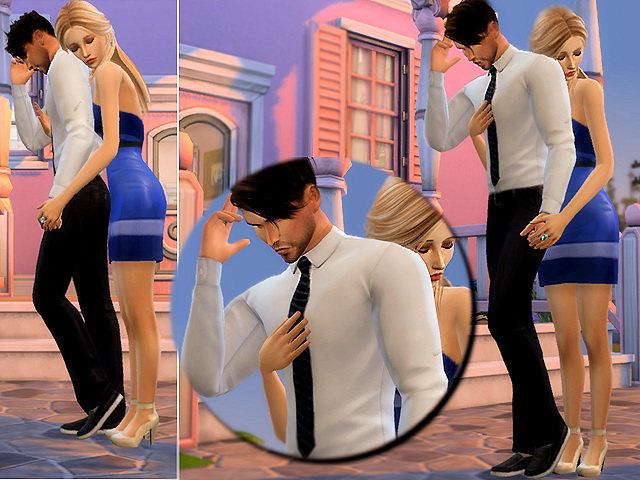 Intense poses by lenina 90 at Sims Fans image 13315 Sims 4 Updates