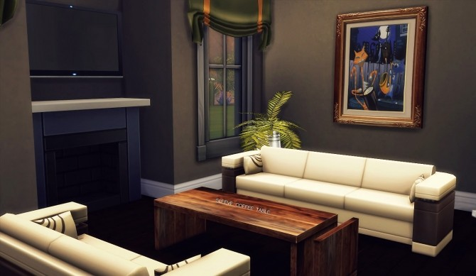 Sims 4 Sleeve Coffee Table by Kiara Rawks at Onyx Sims