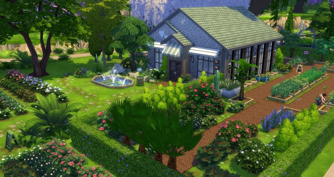 Sims 4 community lots downloads sims 4 updates page 72 for Garden design sims 4
