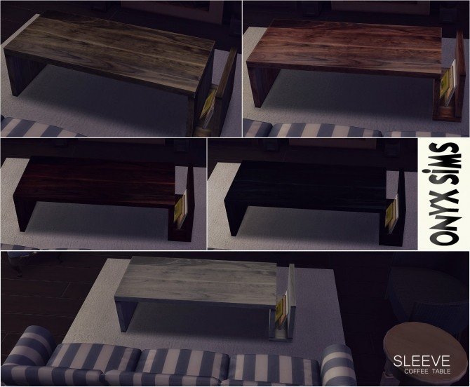 Sleeve Coffee Table by Kiara Rawks at Onyx Sims image 13415 670x552 Sims 4 Updates