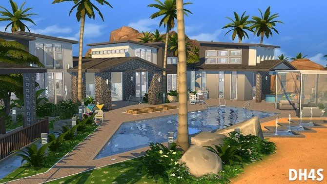 501 Heather Road, Beverly Hills house at DH4S image 135 670x377 Sims 4 Updates