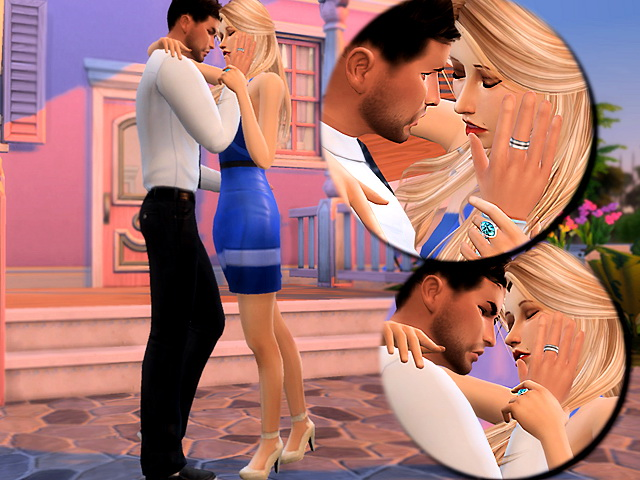Intense poses by lenina 90 at Sims Fans image 13515 Sims 4 Updates