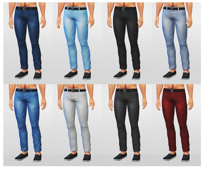 Sims 4 Skinny jeans at LumiaLover Sims