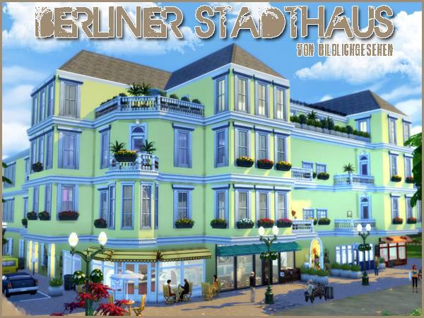 Berlin townhouse by Bildlichgesehen at Akisima image 1397 Sims 4 Updates