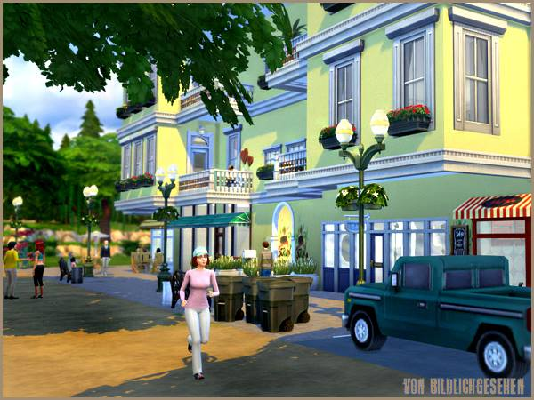 Berlin townhouse by Bildlichgesehen at Akisima image 1406 Sims 4 Updates