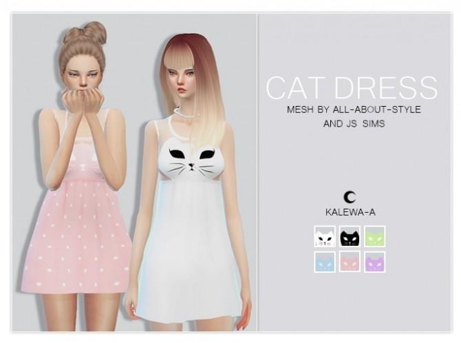 Sims 4 Cat Dress at Kalewa a