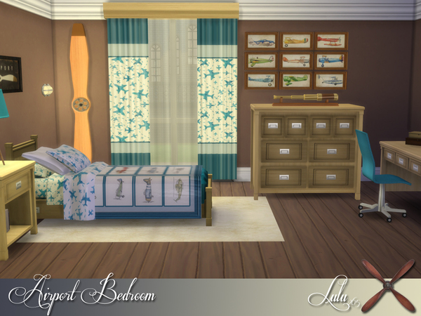 Port Bedroom by Lulu265 at TSR image 14104 Sims 4 Updates