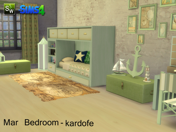 Mar Bedroom by kardofe at TSR image 14105 Sims 4 Updates