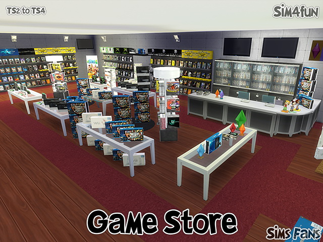 TS2 to TS4 Game Store by Sim4fun at Sims Fans image 14121 Sims 4 Updates