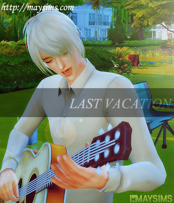 Hair 40 M (B fly) at May Sims image 1415 Sims 4 Updates