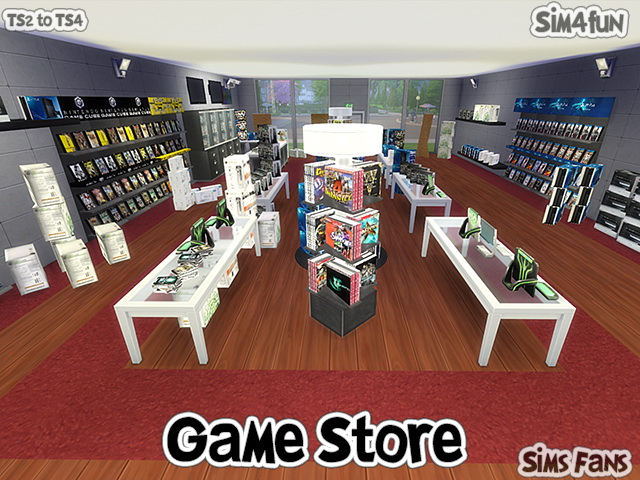 TS2 to TS4 Game Store by Sim4fun at Sims Fans image 14217 Sims 4 Updates