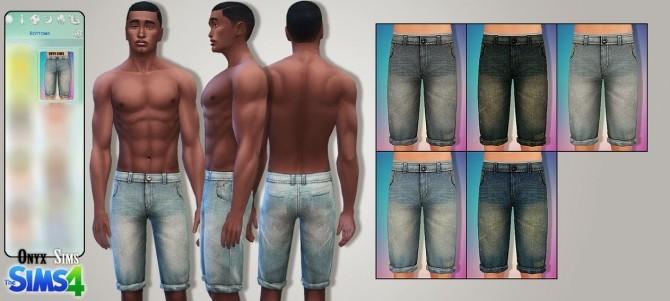 Male Bottoms No2 by Kiara Rawks at Onyx Sims image 1431 670x301 Sims 4 Updates