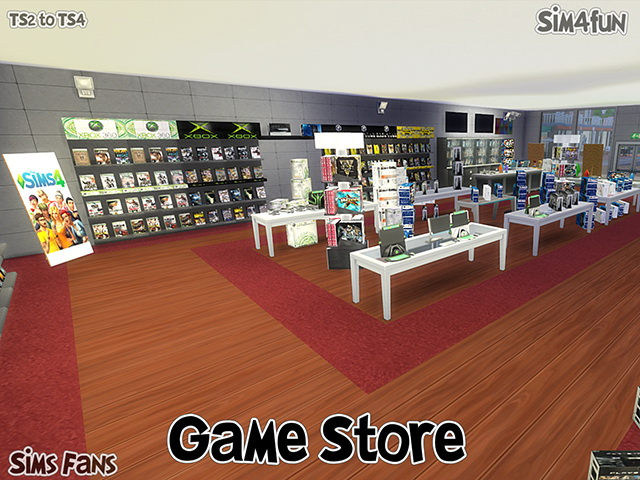 TS2 to TS4 Game Store by Sim4fun at Sims Fans image 14315 Sims 4 Updates
