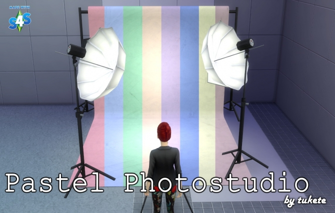 Pastel Photostudio At Tukete 187 Sims 4 Updates