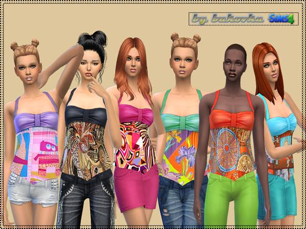 Sims 4 Top Summer Day by bukovka at TSR