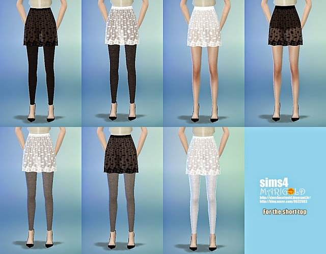 Lace h line mini skirt at Marigold image 1440 Sims 4 Updates