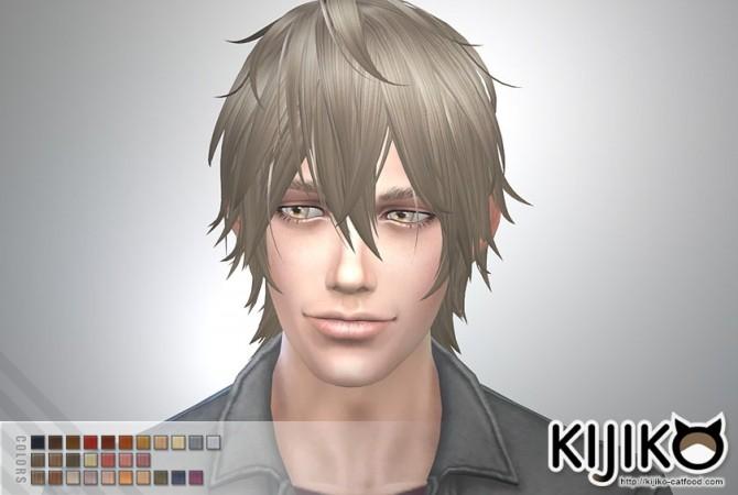 Night Fog hair TS4 edition (Male) at Kijiko image 14416 670x450 Sims 4 Updates