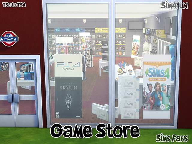 TS2 to TS4 Game Store by Sim4fun at Sims Fans image 14513 Sims 4 Updates