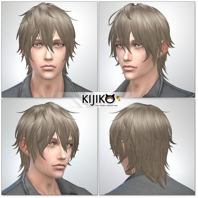 Night Fog hair TS4 edition (Male) at Kijiko image 14516 670x670 Sims 4 Updates