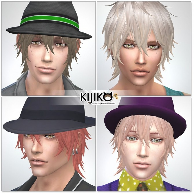 Night Fog hair TS4 edition (Male) at Kijiko image 14617 670x670 Sims 4 Updates