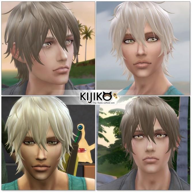 Night Fog hair TS4 edition (Male) at Kijiko image 14718 670x670 Sims 4 Updates