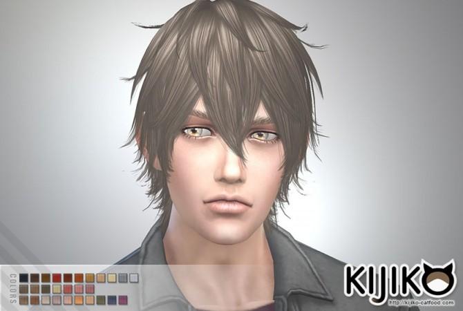 Night Fog hair TS3 to TS4 conversion (Male) at Kijiko image 14815 670x450 Sims 4 Updates
