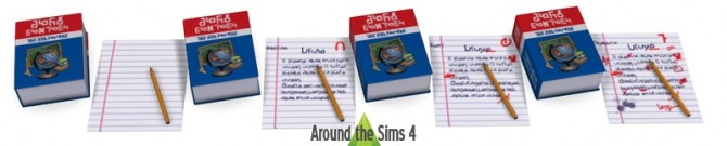 School Accessories at Around the Sims 4 image 1507 670x135 Sims 4 Updates