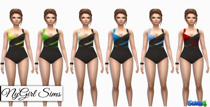 Multi Wrapped Swimsuit at NyGirl Sims image 15100 670x343 Sims 4 Updates