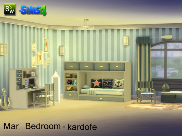Mar Bedroom by kardofe at TSR image 15106 Sims 4 Updates