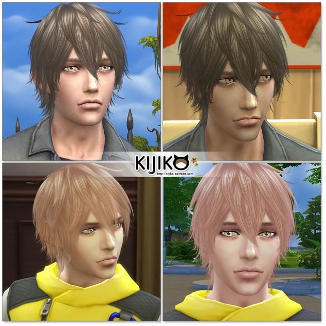 Night Fog hair TS3 to TS4 conversion (Male) at Kijiko image 15124 670x670 Sims 4 Updates