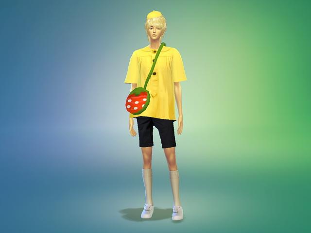 Sims 4 Preschooler costume play at Marigold
