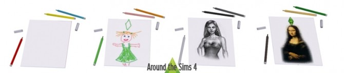 School Accessories at Around the Sims 4 image 1529 670x144 Sims 4 Updates