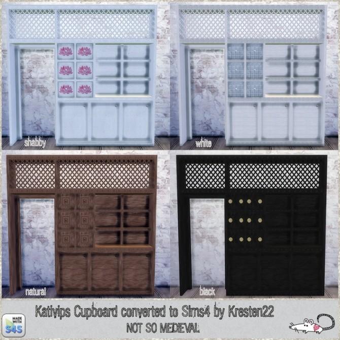 Sims 4 Kativip cupboard conversion at Loverat Sims4