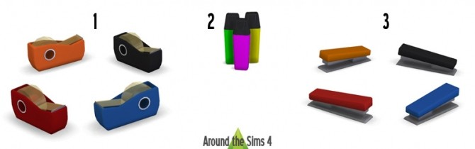 School Accessories at Around the Sims 4 image 1537 670x210 Sims 4 Updates