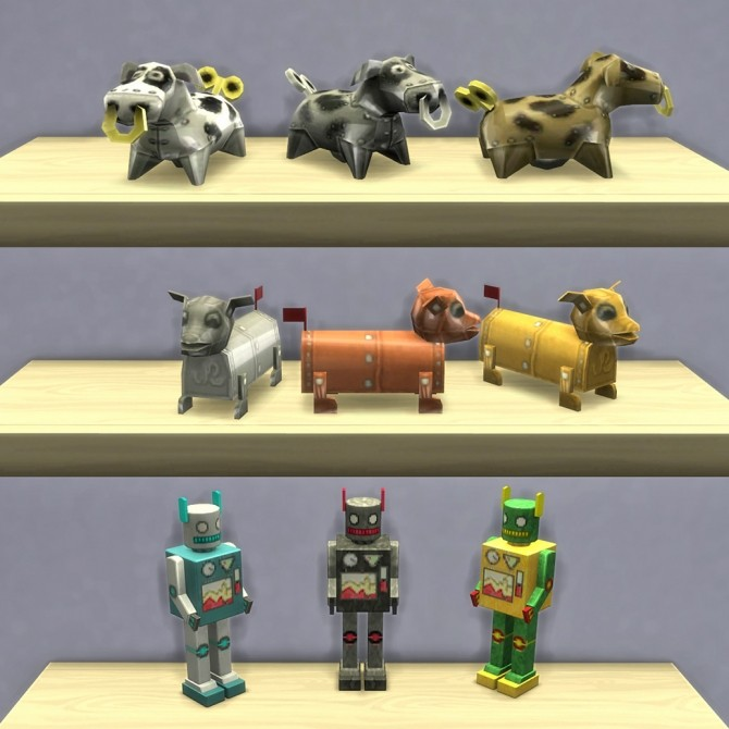 Playable Robot Toys by K9DB at Mod The Sims image 15410 670x670 Sims 4 Updates