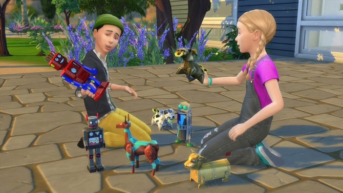 Playable Robot Toys By K9db At Mod The Sims 187 Sims 4 Updates
