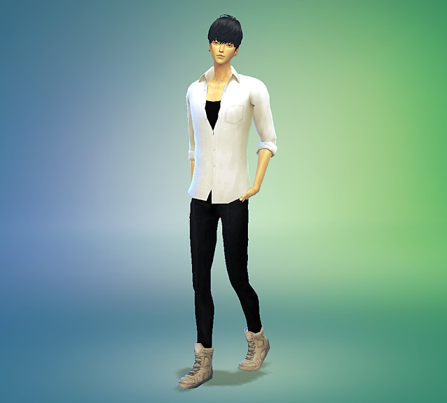 Open button shirts at Marigold image 15514 Sims 4 Updates