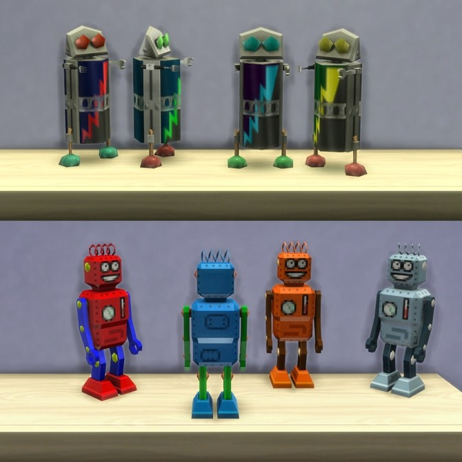 Playable Robot Toys by K9DB at Mod The Sims image 1579 670x670 Sims 4 Updates