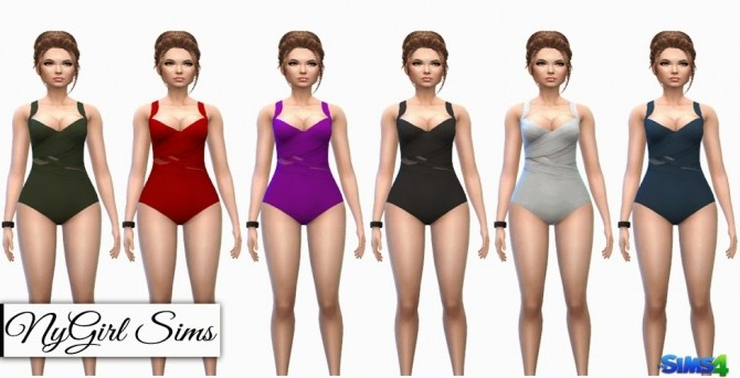 Sims 4 Multi Wrapped Swimsuit at NyGirl Sims