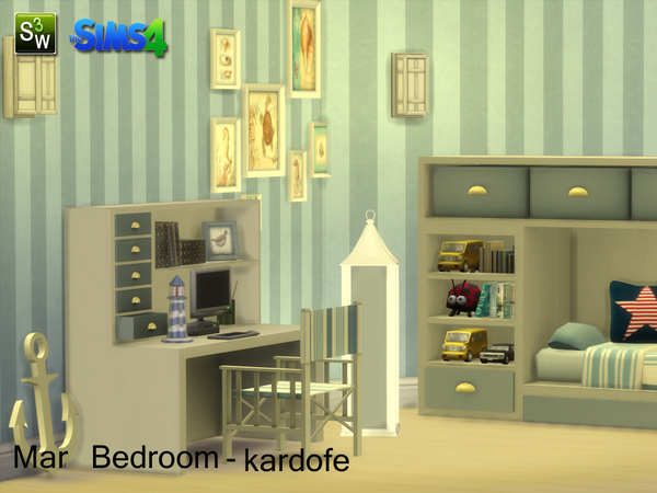 Mar Bedroom by kardofe at TSR image 16108 Sims 4 Updates