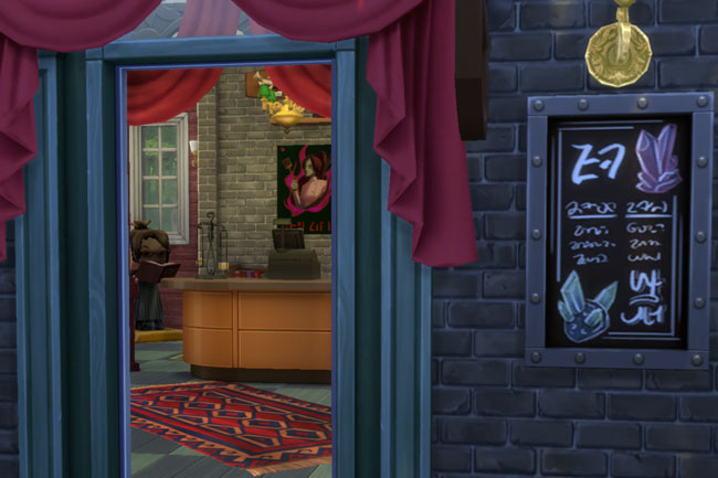 Witches store by mammut at Blacky's Sims Zoo image 1611 Sims 4 Updates
