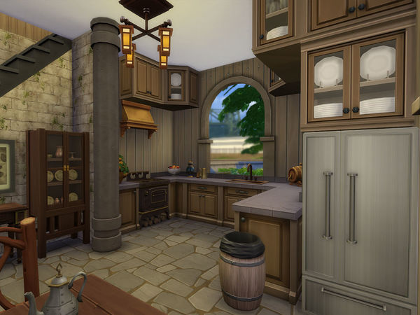 Sims 4 Classic Roman House by Ineliz at TSR
