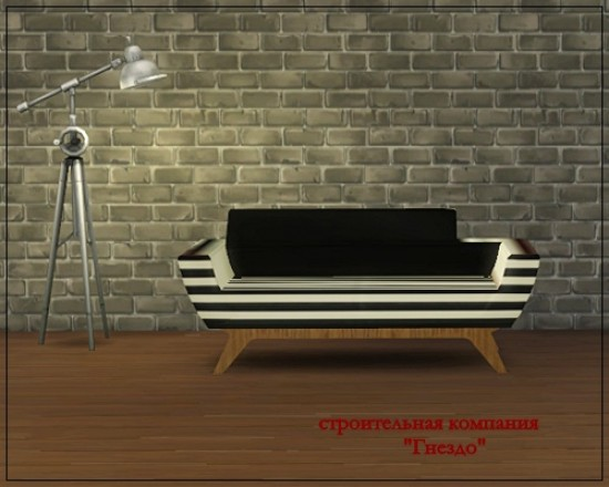 Sims 4 ARXUR sofa at Sims by Mulena