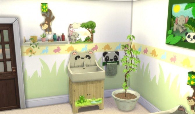 Sims 4 Animal Abound Set at Leander Belgraves