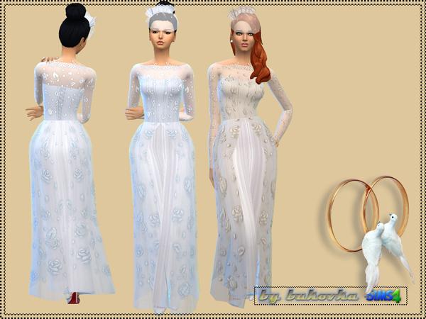 Wedding dress by bukovka at TSR image 1655 Sims 4 Updates