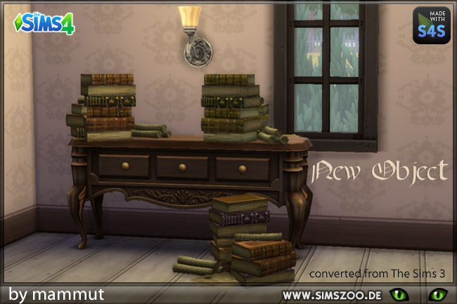 Old Books by mammut at Blacky's Sims Zoo image 1661 Sims 4 Updates