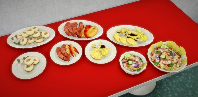 The Luxury Party Food extracted at Budgie2budgie image 16613 670x331 Sims 4 Updates
