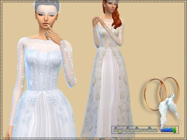 Wedding dress by bukovka at TSR image 1665 Sims 4 Updates