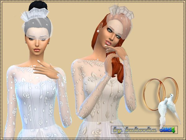 Wedding dress by bukovka at TSR image 1674 Sims 4 Updates