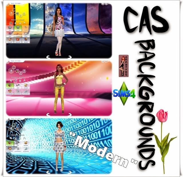 Sims 4 Modern CAS Backgrounds at Annett's Sims 4 Welt
